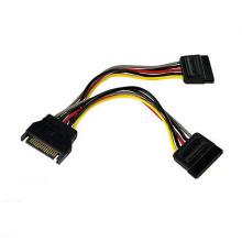 Câble d'alimentation IDE SATA 15pin SATA personnalisé