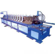 Shelf roll machine,shelf rack roll forming machine,auto shelf rack beam roll former for gondola supermarket shelf