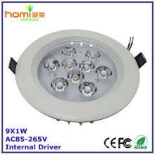 Luz de teto de LED 9W