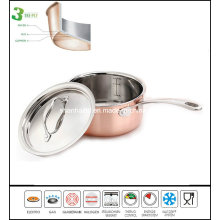 3 Ply Copper Sauce Pan Composite Material