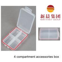 4 Compartment Small Accessories Box