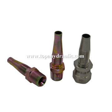 Nipple pure copper Reusable hose fitting