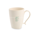 Unbreakable Bamboo Fiber Plastic Coffee Mugs Cups