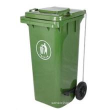 Pedal Plastic Dustbin (120L)