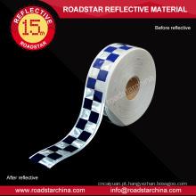 Fita micro segurança prismático refletivo PVC