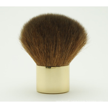 Natural Hair Kabuki Brush with Gold Ferrule