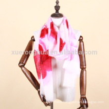 hand painted cashmere shawl for women