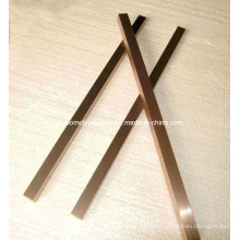 Polishd Tungsten Copper Alloy Bars