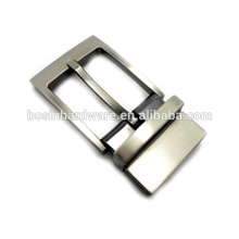 Fashion High Quality Metal Pin Type Reversible Belt Buckle