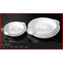 Plaque de porcelaine/céramique mer-oreille/Ormeaux (No.P0254)