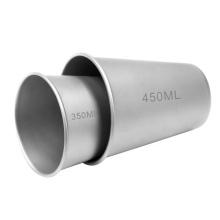 coffee mugs pure titanium travel beer cup