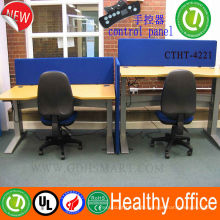 height adjustable computer desk Optional about telescopic lift up and down Modern modular workstation