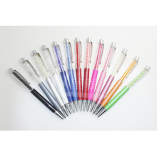 Colorful and Fashion Promotional Gift Crystal Metal Ballpoint Pen