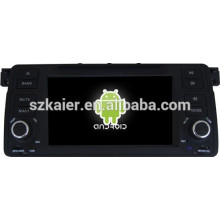 Android 4.4 Mirror-link Glonass/GPS 1080P dual core car GPS player for BMW E46 with GPS/Bluetooth/TV/3G