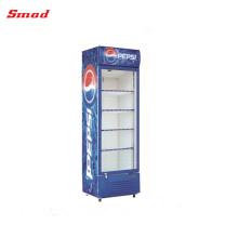 Einzelner Tür-offener Energie-Getränk-Anzeigen-Kühlschrank