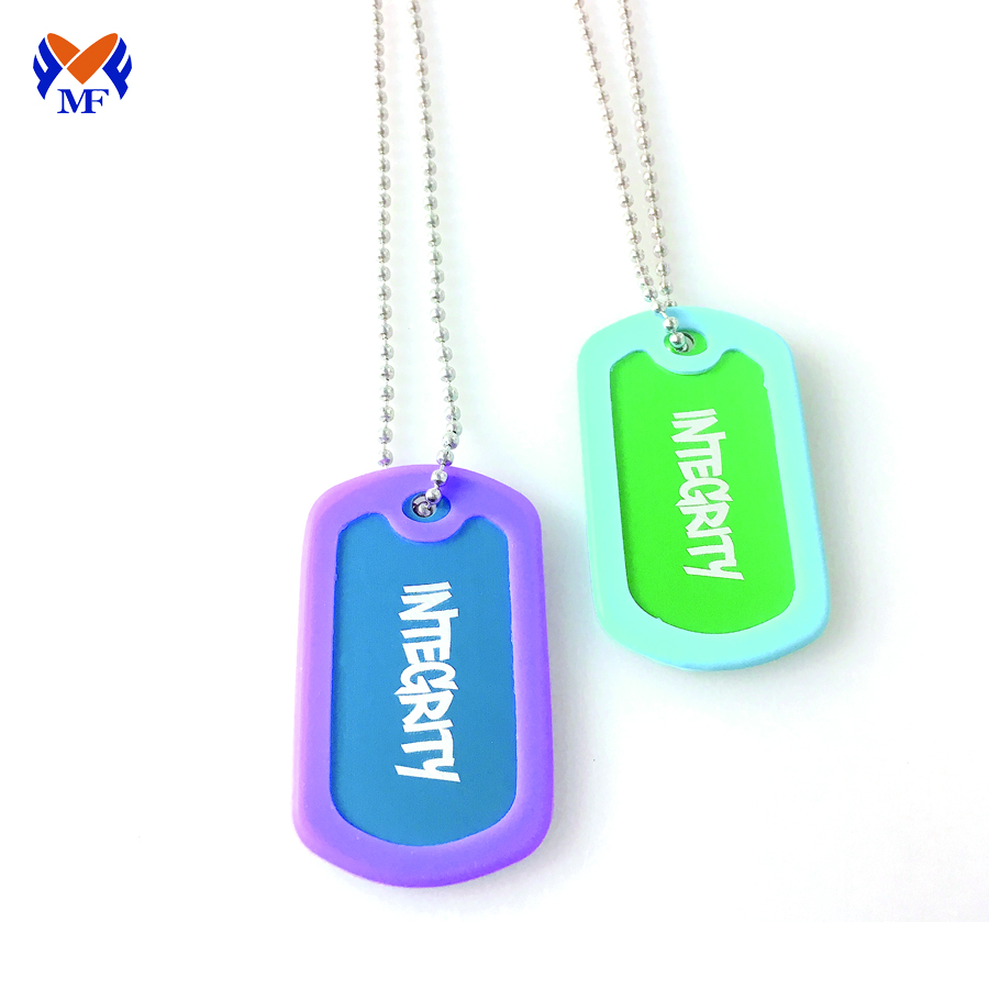 Custom Cut Out Dog Tag