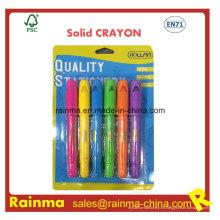 Crayon con color sólido para niños