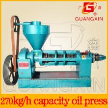 Expulsor de óleo de girassol da marca de Guangxin para a imprensa do óleo da semente de grão (YZYX120-9)