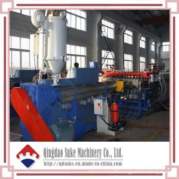 PC Plastic Hollow Sheet Extrusion Production Machine Line