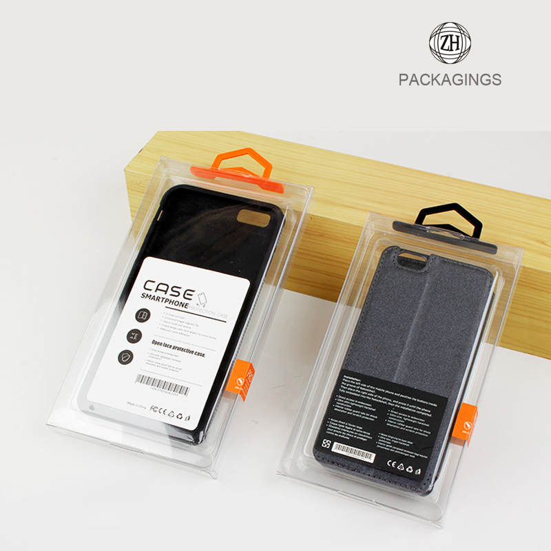 Mobile phone plastic case box