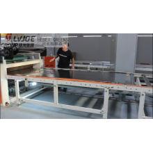 PVC film gypsum board double sided laminating machine