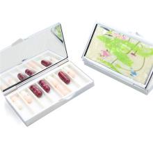 Alta qualidade Pillbox Portable Pillbox para viagens