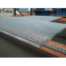 Manufactur standard for Ss Foot Grating Welded stainless steel grating supply to Palestine Factory