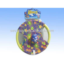 2011 toy hand bombs racket and cloth frisbee