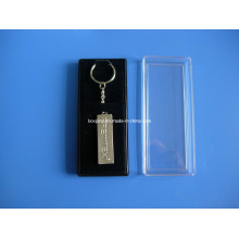 Metal Key Chain with Acrylic Gift Box (BOX-LUK-metal key chain-050)