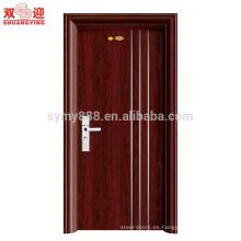 Puerta de la sala de la puerta interior de acero inoxidable de diseño más reciente