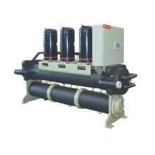 Screw water chiller with heat recover