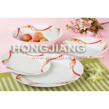 Porcelain Plate (HJ1008)