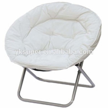 selling 2016 comfortable metal beach chair folding moon chair