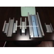 CE standard C Kanalstahl Rollen bildenden Maschine portable Stahl Kanal, der Maschine herstellt