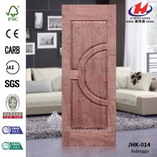 JHK-014 Best Semi-Circle Design Double Door Wood Bubinga Veneer Door Mmaterail  Quality Assured
