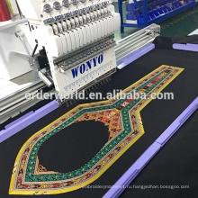 1 голова 15 иглы большой площади вышивальная машина с цены на швейные машины