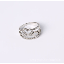 Fashion Double Hearts Jewelry Ring Good Quality Good Reasonable Price