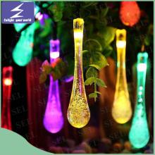 Solar-LED-Weihnachtshochzeits-Vorhang-Schnur-Licht für Feiertags-Garten-Baum-Partei