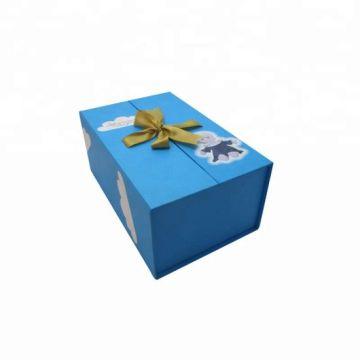 Caja de regalo al por mayor del cierre de la cinta magnética de la puerta doble