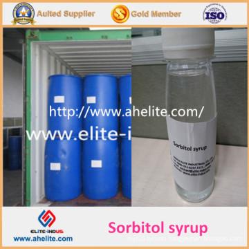 Liquid Sorbitol Solution 70% Food Sweetener Additives Syrup