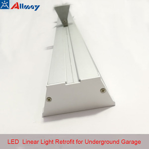 Newly Hanging Microwave Sensor LED Parking Lot Light