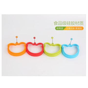 Non-stick Heat-resistance Silicone Egg Mantan Bear Ring