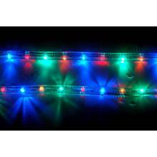Levou corda luz rodada 2 fios multicolor
