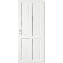 Home Design Modern Style Puerta de ventana blanca con estilo y rieles
