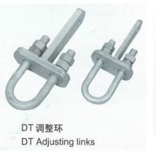 Enlaces de ajuste de acero galvanizado en caliente
