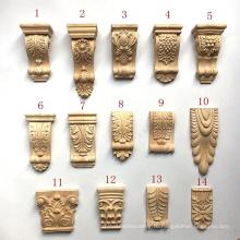 Части мебели ремесла руки высекли столицы Corbels рамки деревянные