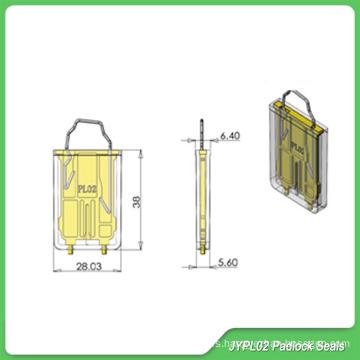 Candado sellado (JYPL02S), cerraduras portátiles