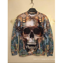 Skull Awful Punk Sweatshirts Impression Manches longues