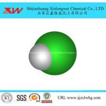 Ácido clorhídrico para la industria textil.