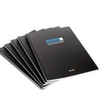 Cuaderno suave de alta calidad de la cubierta del PVC con diseño del OEM